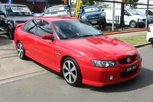 2005 Holden Commodore VZ SSZ Red 4 Speed Automatic Sedan