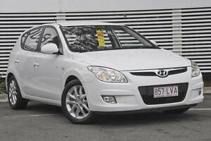 2009 Hyundai i30 FD MY09 SLX White 4 Speed Automatic Hatchback Mount Gravatt Brisbane South East Preview