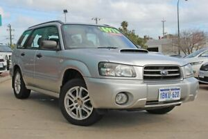 2003 Subaru Forester 79V MY04 XT AWD Silver 4 Speed Automatic Wagon Victoria Park Victoria Park Area Preview