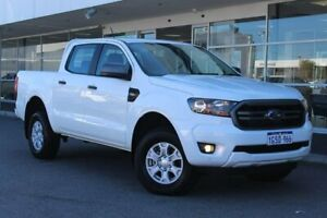 2019 Ford Ranger PX MkIII 2019.00MY XLS Pick-up Double Cab White 6 Speed Sports Automatic Utility Osborne Park Stirling Area Preview