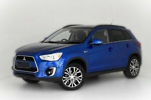 2015 Mitsubishi ASX XB MY15.5 LS 2WD Blue 6 Speed Constant Variable Wagon Narre Warren Casey Area Preview