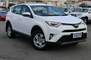 2018 Toyota RAV4 ZSA42R GX 2WD White 7 Speed Constant Variable Wagon Northbridge Perth City Area Preview