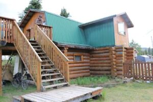 Beautiful Log Home in Ross River, YT (Price Reduced)