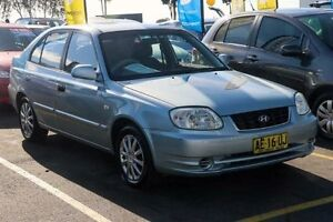 2006 Hyundai Accent LC GL Blue Automatic Hatchback Colyton Penrith Area Preview