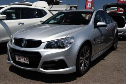 2015 Holden Commodore VF MY15 SV6 Silver 6 Speed Sports Automatic Sedan Slacks Creek Logan Area Preview