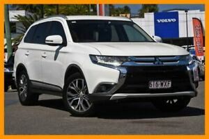 2016 Mitsubishi Outlander ZK MY16 LS 2WD White 6 Speed Constant Variable Wagon Mount Gravatt Brisbane South East Preview