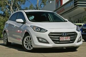 2014 Hyundai i30 GD2 Active White 6 Speed Sports Automatic Hatchback Noosaville Noosa Area Preview