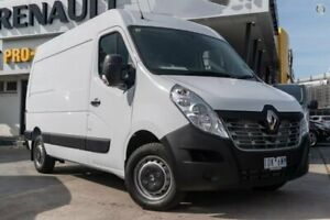 2018 Renault Master X62 Mid Roof MWB AMT White 6 Speed Sports Automatic Single Clutch Van Bentleigh Glen Eira Area Preview