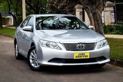 2013 Toyota Aurion GSV50R AT-X Silver 6 Speed Sports Automatic Sedan Medindie Walkerville Area Preview
