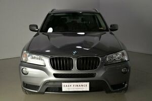 2013 BMW X3 F25 MY0413 xDrive20d Steptronic Grey 8 Speed Automatic Wagon Mansfield Brisbane South East Preview