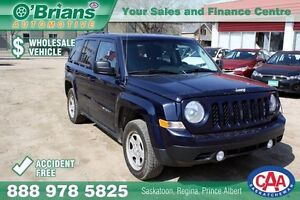 2013 Jeep Patriot Sport - Wholesale Unit, Accident Free!