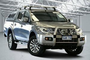 2016 Mitsubishi Triton MQ MY16 GLS (4x4) Titanium 5 Speed Automatic Dual Cab Utility Perth Airport Belmont Area Preview
