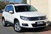 2012 Volkswagen Tiguan 5N MY13 103TDI DSG 4MOTION White 7 Speed Sports Automatic Dual Clutch Wagon Glenelg Holdfast Bay Preview