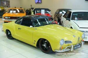 1961 Volkswagen Karmann Ghia Ghia Yellow 4 Speed Manual Coupe Carss Park Kogarah Area Preview