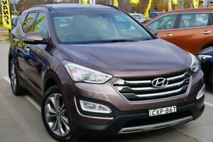 2015 Hyundai Santa Fe DM2 MY15 Highlander Brown 6 Speed Sports Automatic Wagon Pearce Woden Valley Preview