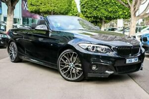 2018 BMW 220i F23 LCI M Sport Black 8 Speed Sports Automatic Convertible South Melbourne Port Phillip Preview