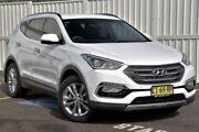 2016 Hyundai Santa Fe DM3 MY16 Elite White 6 Speed Sports Automatic Wagon Gosford Gosford Area Preview