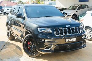 2014 Jeep Grand Cherokee WK MY2014 SRT Black 8 Speed Sports Automatic Wagon Greenacre Bankstown Area Preview
