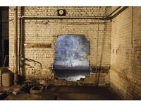 Beautiful industrial warehouse film / photography studio for daily hire Kingsland road hackney