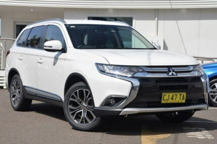 2016 Mitsubishi Outlander ZK MY16 LS 4WD White 6 Speed Constant Variable Wagon Gosford Gosford Area Preview