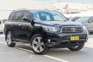 2007 Toyota Kluger GSU40R KX-S 2WD Black 5 Speed Sports Automatic Wagon Brookvale Manly Area Preview
