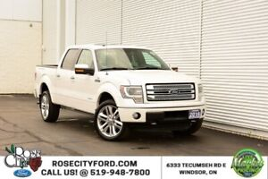 2014 Ford F-150 Limited / ACCIDENT FREE / BACK UP CAM / HEATED S