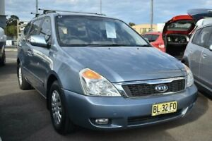 2010 Kia Grand Carnival VQ Si Wagon 8st 5dr Tiptronic 5sp 2.9DT [MY11] Blue Sports Automatic Wagon