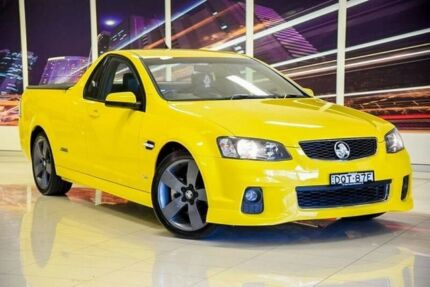 2012 Holden Ute VE II MY12.5 SS Z Series Yellow 6 Speed Manual Utility