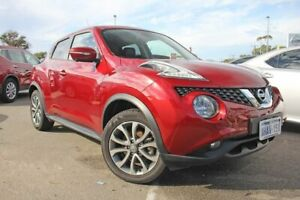 2017 Nissan Juke F15 Series 2 Ti-S X-tronic AWD Red 1 Speed Constant Variable Hatchback Rockingham Rockingham Area Preview