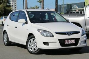2011 Hyundai i30 FD MY11 SX White 4 Speed Automatic Hatchback Upper Mount Gravatt Brisbane South East Preview