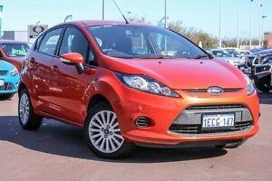 2012 Ford Fiesta  Orange Manual Hatchback East Rockingham Rockingham Area Preview