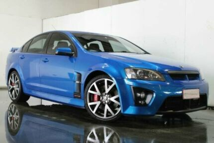 2008 Holden Special Vehicles GTS E Series MY09 Blue Manual Sedan Underwood Logan Area Preview
