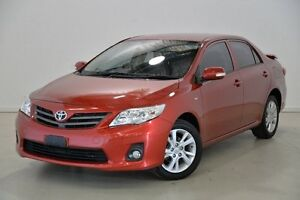2011 Toyota Corolla ZRE152R MY11 Ascent Sport Red 4 Speed Automatic Sedan Mansfield Brisbane South East Preview