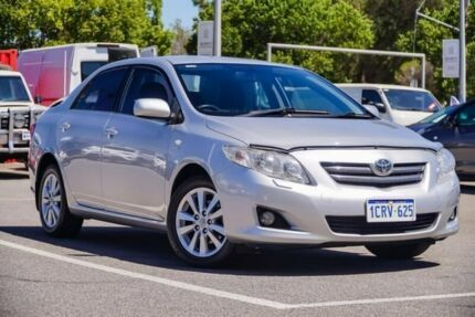 2007 Toyota Corolla Silver Automatic Sedan Welshpool Canning Area Preview