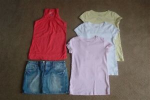 GIRLS SIZE 8 SUMMER CLOTHES