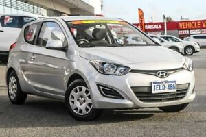 2014 Hyundai i20 PB MY14 Active Silver 4 Speed Automatic Hatchback Cannington Canning Area Preview