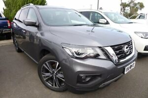 2018 Nissan Pathfinder R52 Series II MY17 Ti X-tronic 4WD Grey 1 Speed Constant Variable Wagon Hoppers Crossing Wyndham Area Preview