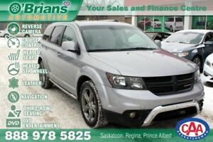 2016 Dodge Journey Crossroad w/DVD, 3rd Row, Leather