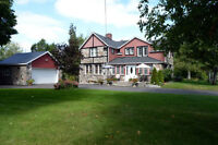 Unique Field Stone home on 2 acres - 135 kms east of Don Valley.