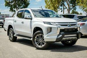 2019 Mitsubishi Triton MR MY19 GLS Double Cab Premium White 6 Speed Sports Automatic Utility Midvale Mundaring Area Preview