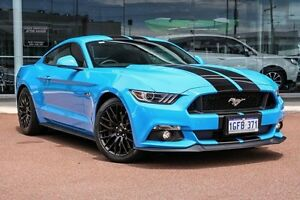 2016 Ford Mustang FM GT Fastback SelectShift Grabber Blue 6 Speed Sports Automatic Fastback Osborne Park Stirling Area Preview