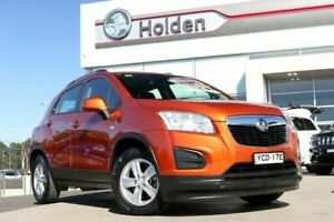 2015 Holden Trax TJ MY15 LS Orange Rock 6 Speed Automatic Wagon Liverpool Liverpool Area Preview