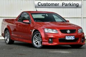 2011 Holden Ute VE II MY12 SS Red 6 Speed Sports Automatic Utility Ferntree Gully Knox Area Preview