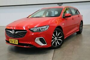 2018 Holden Commodore ZB MY18 RS Sportwagon Red/Black 9 Speed Sports Automatic Wagon Castle Hill The Hills District Preview