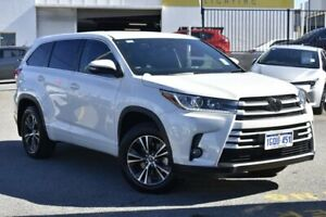 2018 Toyota Kluger GSU50R GX 2WD Crystal Pearl 8 Speed Sports Automatic Wagon Nedlands Nedlands Area Preview