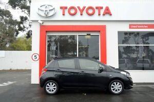2013 Toyota Yaris NCP131R YRX Black 4 Speed Automatic Hatchback