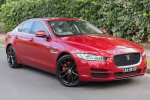 2015 Jaguar XE X760 MY16 20t R-Sport Red 8 Speed Sports Automatic Sedan Parkside Unley Area Preview