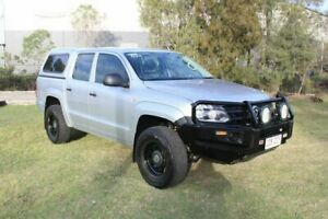 2011 Volkswagen Amarok 2H TDI400 4x2 Silver 6 Speed Manual Utility Ormeau Gold Coast North Preview
