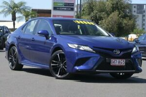 2019 Toyota Camry ASV70R SX Lunar Blue 6 Speed Sports Automatic Sedan Upper Mount Gravatt Brisbane South East Preview