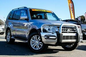 2015 Mitsubishi Pajero NX MY15 GLS Silver 5 Speed Sports Automatic Wagon Cannington Canning Area Preview